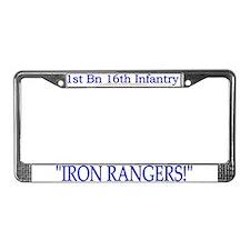 1st Bn 16th Infantry License Plate Frame