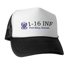 1st Bn 16th Infantry Trucker Hat