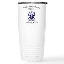 1st Bn 16th Infantry Travel Mug