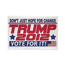Trump 2012 Rectangle Magnet