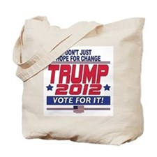 Trump 2012 Tote Bag