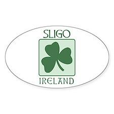 Sligo, Ireland Oval Decal