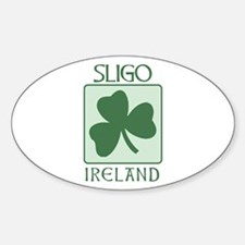 Sligo, Ireland Oval Decal