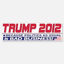 No More Politics as Usual Bumper Bumper Sticker
