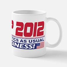 No More Politics as Usual Mug