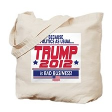 No More Politics as Usual Tote Bag