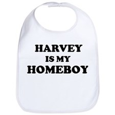 Harvey Is My Homeboy Bib