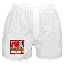 It's a Festivus Miracle! Boxer Shorts