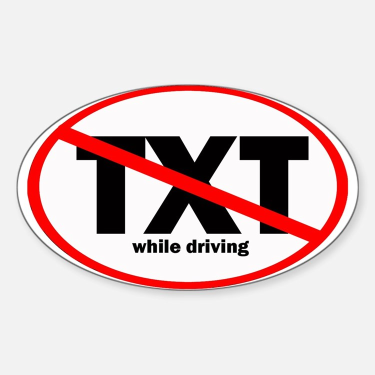 No Texting Decal