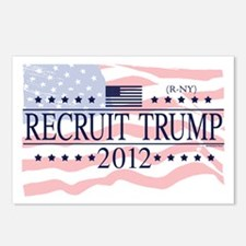Recruit Trump 2012 Postcards (Package of 8)