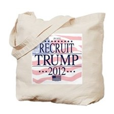 Recruit Trump 2012 Tote Bag