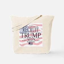 Recruit Trump 2012 Tote Bag
