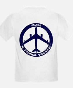 B-47E Peace Sign Kid's Light T-Shirt