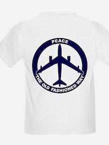 B-47E Peace Sign Kid's Light T-Shirt