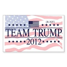 Team Trump 2012 Decal