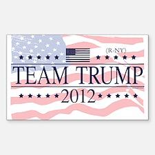 Team Trump 2012 Sticker (Rectangle)