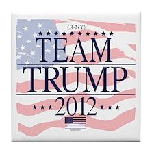 Team Trump 2012 Tile Coaster