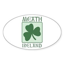 Meath, Ireland Oval Decal