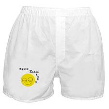 Sleeping Smiley Boxer Shorts