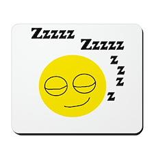 Sleeping Smiley Mousepad
