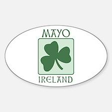 Mayo, Ireland Oval Decal