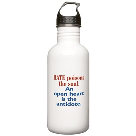 Hate Poisons Stainless Water Bottle 1.0L