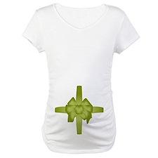 Green Tummy Bow Shirt