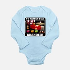 CANDLE MAKER/CANDLE MAKING Long Sleeve Infant Body