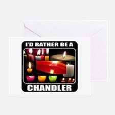 CANDLE MAKER/CANDLE MAKING Greeting Card