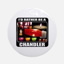 CANDLE MAKER/CANDLE MAKING Ornament (Round)