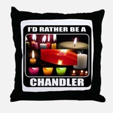 CANDLE MAKER/CANDLE MAKING Throw Pillow