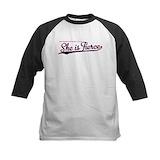 Short girls Baseball Jersey