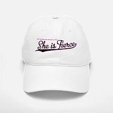 She is Fierce - Swash Baseball Baseball Cap