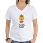 Pageant Chick Women's V-Neck T-Shirt