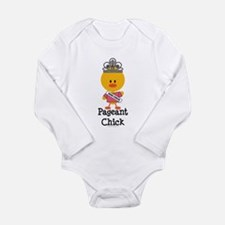 Pageant Chick Long Sleeve Infant Bodysuit