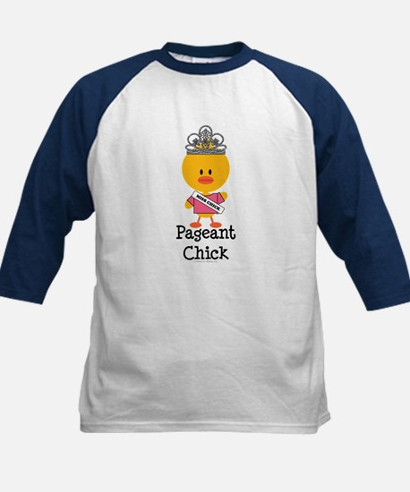 Pageant Chick Kids Baseball Jersey