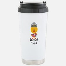 Pageant Chick Stainless Steel Travel Mug