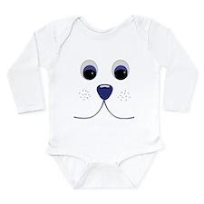 Smiling Pets 1 Long Sleeve Infant Bodysuit