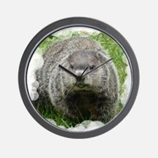 Groundhog (Woodchuck) Wall Clock