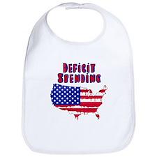 Deficit Spending America Bib