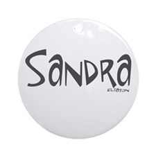 Sandra Ornament (Round)