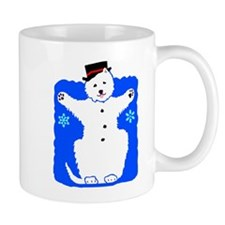 Holiday Westie Snowman Mug