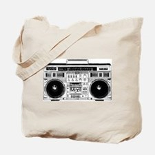 Boombox Ghettoblaster Tote Bag