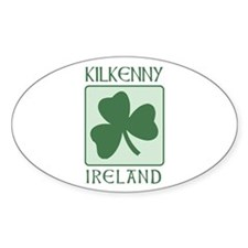 Kilkenny, Ireland Oval Decal