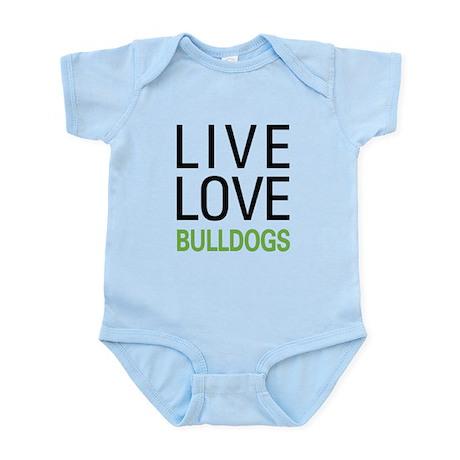 Live Love Bulldogs Infant Bodysuit