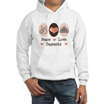 Peace Love Pageant Hooded Sweatshirt