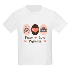 Peace Love Pageant T-Shirt