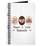 Peace Love Pageant Journal