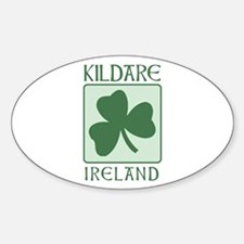 Kildare, Ireland Oval Decal