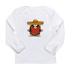 Fiesta Penguin Long Sleeve Infant T-Shirt